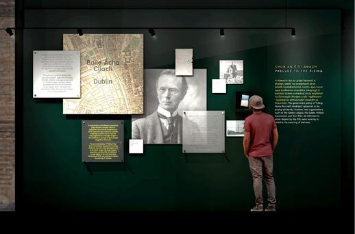 The GPO Witness History exhibition