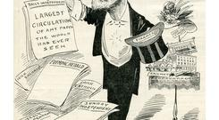 William Martin Murphy: lampooned in 1908 cartoon.