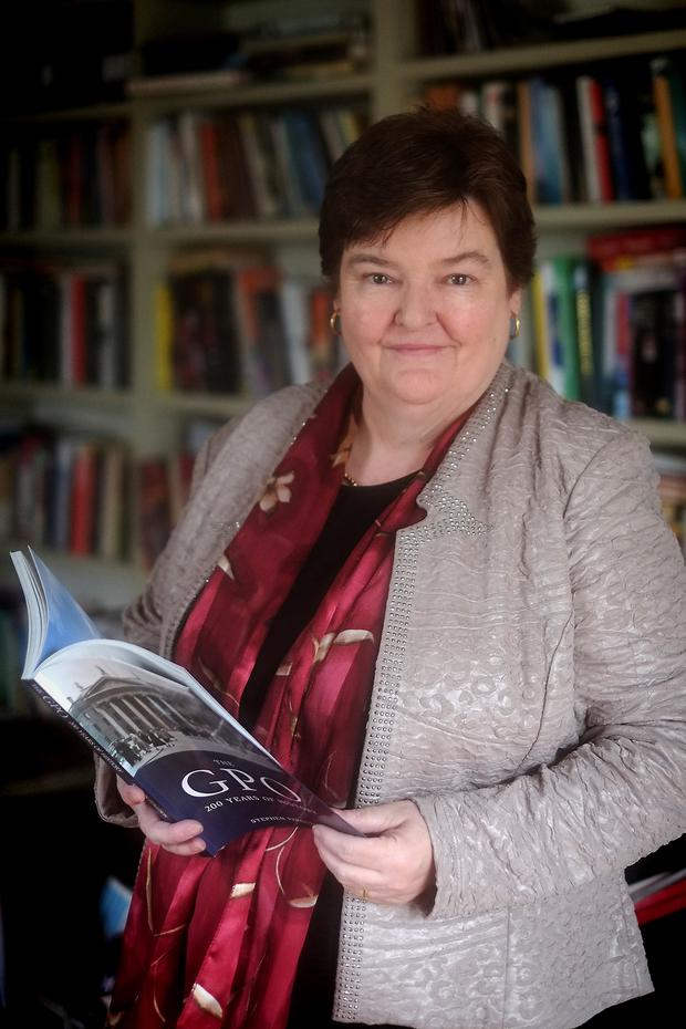'Pride': Professor Bríona Nic Dhiarmada, chair of Irish Language and Literature at the University of Notre Dame, whose documentary series '1916' begins tonight.