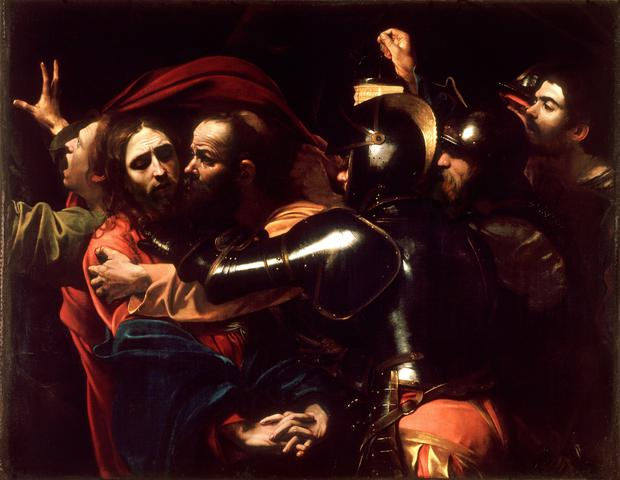 Lucky find: Caravaggio's 'The Taking of Christ', which is now on indefinite loan to the National Gallery of Ireland.