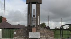 Fingal Brigade: The 1916 memorial in Ashbourne, Co Meath.