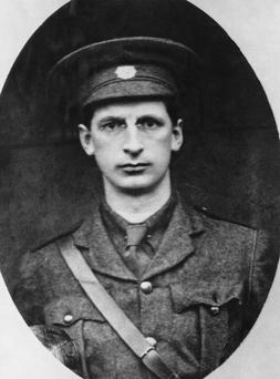 Éamon de Valera in 1914.