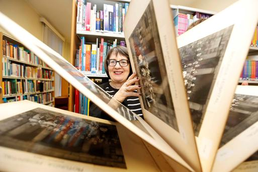 History: Anne O'Byrne, head librarian of the Rotunda Hospital, has curated a 1916 exhibition