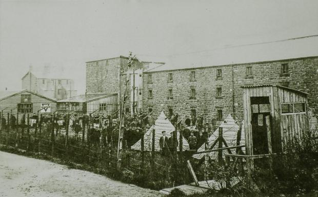 Frongoch Prison Camp in Wales