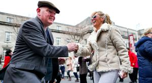 Dancing at the crossroads: Some of the scenes from the RTÉ Reflecting The Rising event throughout Dublin last year