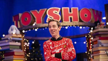 Ryan Tubridy during the 2020 Late Late Toy Show. Photo: Andres Poveda