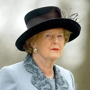 Former British prime minister Margaret Thatcher has died following a stroke