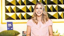 Amy Huberman, who found she wasn't as patient as she thought she would be at home schooling. Picture: Photocall