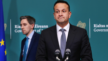 There may be blood: Leo Varadkar and Health Minister Simon Harris. Fianna Fail could look to split the Department of Health and create a new Department of Community and Social Care
