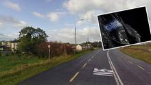 Bohola, Co Mayo, where the four-month-old baby was seriously injured