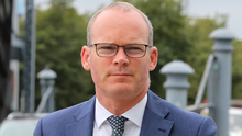 """Minister Coveney said he was """"extremely concerned"""" about the spike in demolition and confiscation of Palestinian-owned structures. Photo: Frank McGrath"""