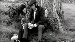 Biddy Lennon White and Tom Hickey as Maggie and Benjy in The Riordans. Hickey passed away on Saturday.