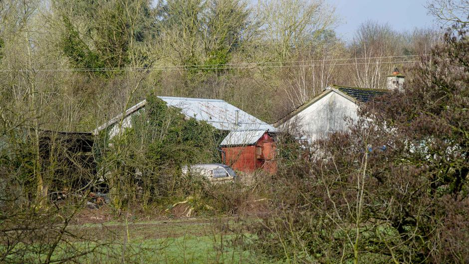 The farm off the Mitchelstown-Mallow Road in Co Cork where the bodies of two brothers in their 60s were discovered. Pic Daragh Mc Sweeney/Provision
