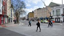 Pedestrians only: A car ban on St Patrick's Street in Cork has hit footfall, say retailers