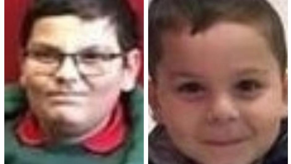 Brothers Fabricio (8) and Patrick Hovarth (5) were missing from their home in Belfast