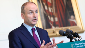 """Grand plan: """"Micheál Martin has no right to rule out such a plebiscite. It is the people's right."""" Photo: PA"""
