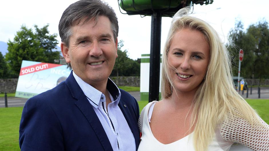 Sean McManus's co-accused and girlfriend Molly Sloyan, from Abbey Court, Kinsale, Co Cork, pictured here with Daniel O'Donnell.   Photo: Don MacMonagle