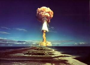 Cloudy issue: A French nuclear test in 1970