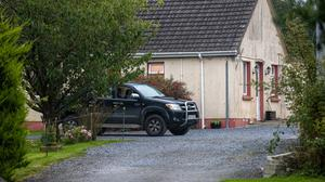 The scene of the suspected murder-suicide in Ballyreehan, Lixnaw, Co Kerry. Photo: Mark Condren