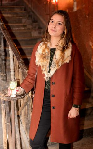 Roisin McVeigh at the preview of Hendrick's Chambers of the Curious Picture. Photo: Andres Poveda