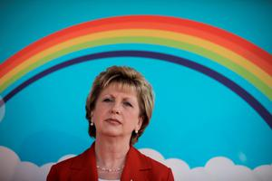 """Dr Mary McAleese said """"monopolies in education are not good"""""""