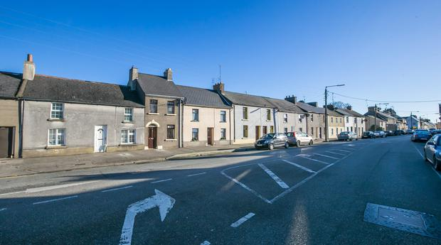 The house at the Faythe in Wexford town, where Bridget Crosbie lay undiscovered for two months