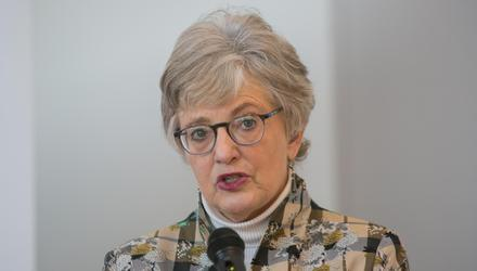 Katherine Zappone's party at the Merrion Hotel remains divisive. Photo: Gareth Chaney/Collins
