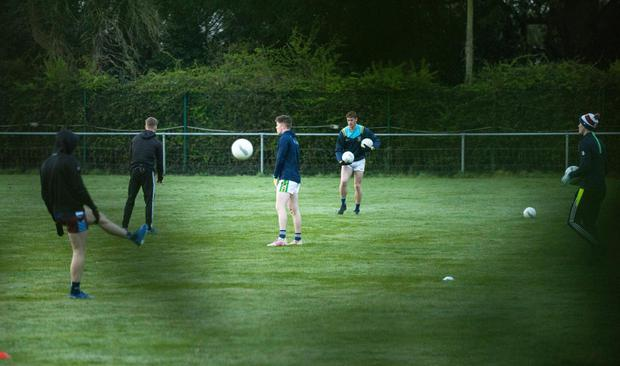 Dublin training session