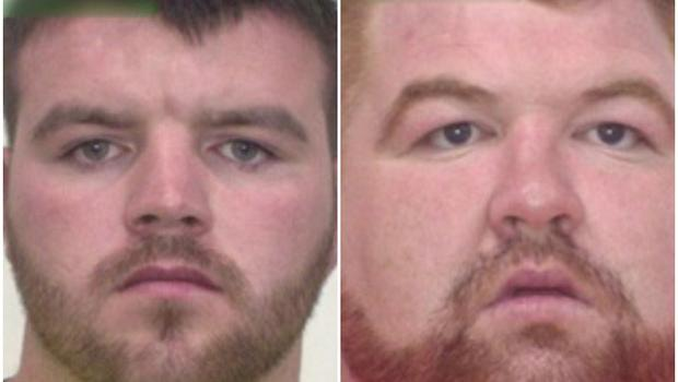 Police in Queensland have released images of the men believed to be Irish