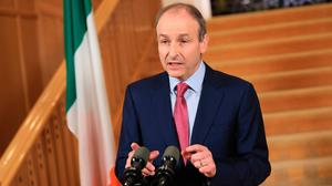 Taoiseach Micheál Martin. Photo: Julien Behal