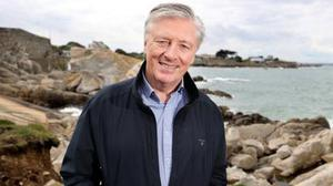 Pat Kenny and over 30 other Dalkey households opposed the development. Photo: Steve Humphreys