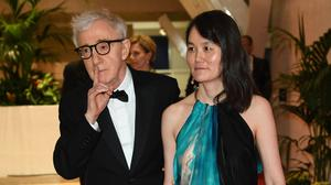 UNSETTLING: Woody Allen and Soon-Yi Previn at the Cannes Film Festival, 2016. Photo: Venturelli