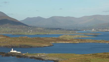 White Strand, centre, where 'Baby John' was found on in 1984. Photo: Don McMonagle