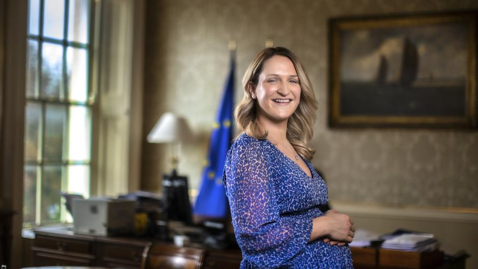 The issue was highlighted after Minister for Justice Helen McEntee announced she is pregnant