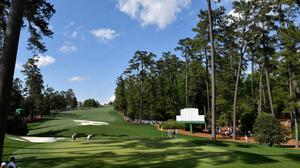 The Masters tees off at Augusta this week — but at home our golfers have been unable to take to their local courses. Picture by Michael Madrid-USA Today
