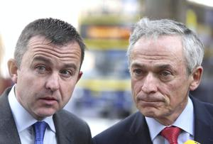 Brian Hayes and Richard Bruton