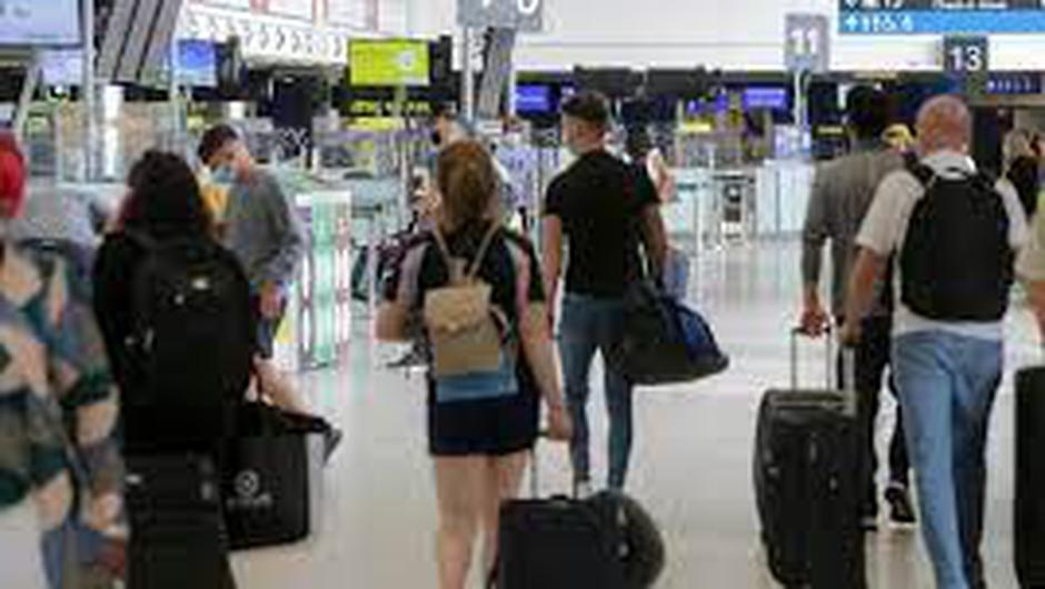 Passengers reported experiencing significant delays at security this morning.