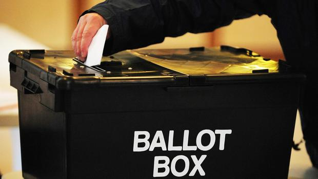 'Voters have to choose carefully and pay some attention to the outline of all parties' policies' (stock photo)