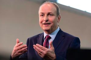 Micheal Martin. Photo: AFP via Getty Images
