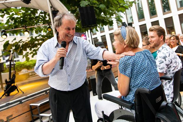 Chris de Burgh performing in July in Cologne, Germany. Picture by Joshua Sammer