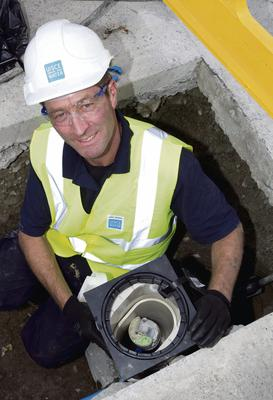 First Irish Water Meter installed in Maynooth