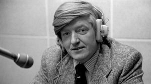 Journalist and presenter Mike Burns, who was well-known for enjoying 'the gossip and the craic'