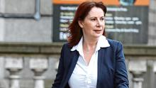 Fine Gael's Josepha Madigan on her way to the Dail as it resumes. Photo: Leah Farrell/RollingNews.ie