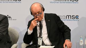 French Foreign Minister Jean-Yves Le Drian. Picture: AFP/Getty