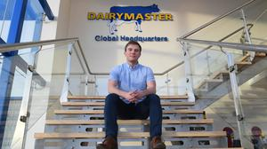 Shane Burns pictured at work in the Dairymaster Global Headquarters plant in Causway Co Kerry. Photo: Domnick Walsh, Eye Focus