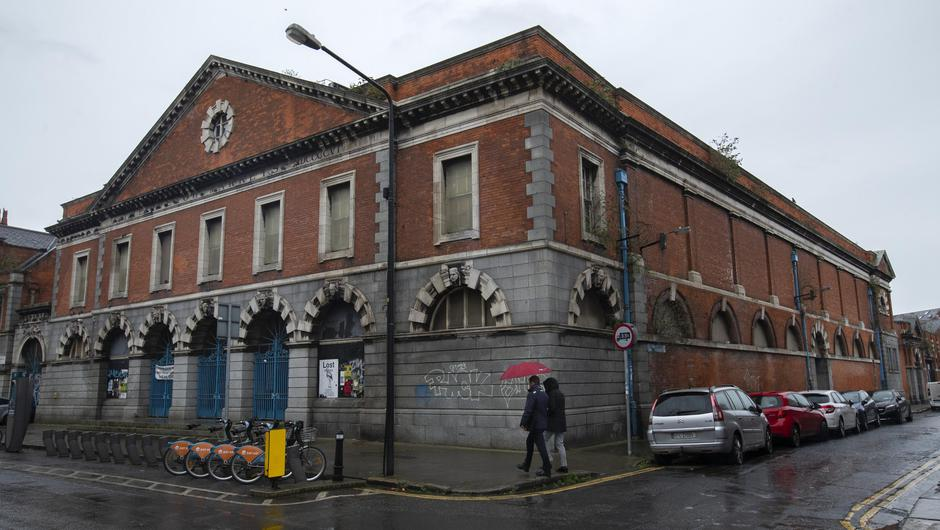 Dublin's Iveagh Market, which first opened in 1906, has fallen into disrepair. Photo: Colin Keegan/Collins