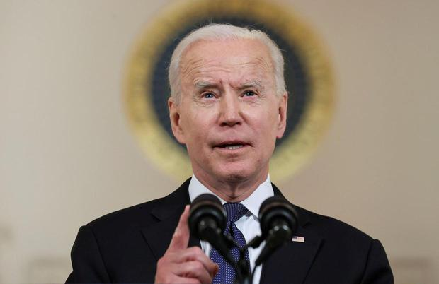 President Joe Biden's administration are set to announce the end of an EU travel ban today. Photo: REUTERS/Jonathan Ernst.