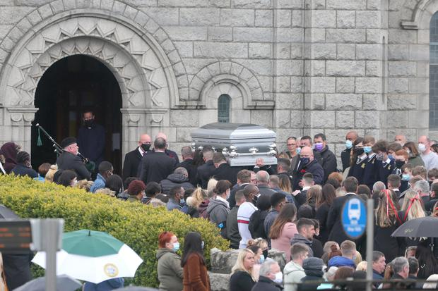 The funeral of Jennifer Poole at Saint Canice's Church, Finglas Village Dublin this morning. Photo: Colin Keegan, Collins Dublin
