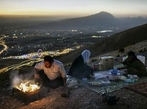 Irishman Ivor Prickett has made the shortlist of the 2014 Sony World Photography Awards for images from the series 'Kurdistan is Booming'.