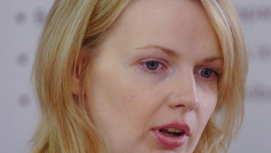 Tracking trend: research officer Deirdre Mongan